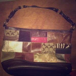 Coach Holiday Patchwork Leather Purse GS06S-10434